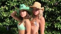 Vanessa Hudgens Appears Bright and Beautiful in a Green Bikini