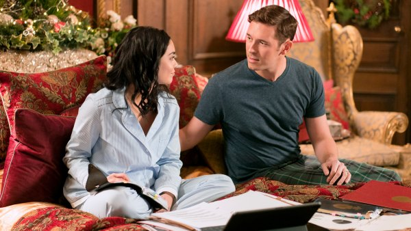 Vanessa Hudgens Sam Palladio on The Princess Switch Sequel Switched Again