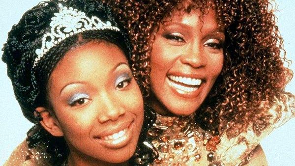 Brandy Recalls Working With Whitney Houston on Cinderella