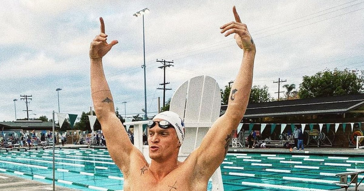 Cody Simpson Fulfills Life Long Dream to Qualify for Olympic Swimming Trials