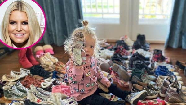 Jessica Simpson's Daughter Birdie Loves Shoes p