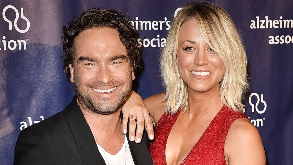 Johnny Galecki and Kaley Cuoco timeline