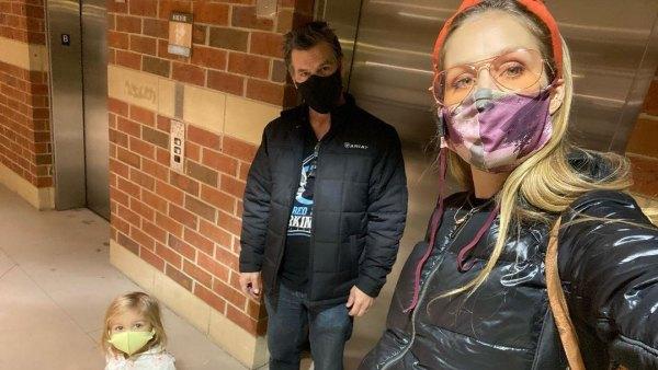 Josh Brolin Westlyn Kathryn Brolin Kids Wearing Face Masks Amid Pandemic