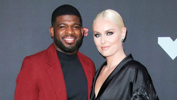 PK Subban and Lindsey Vonn attend the MTV Video Music Awards 2019 Lindsey Vonn Is Not Stressed Over Delayed Wedding to PK Subban