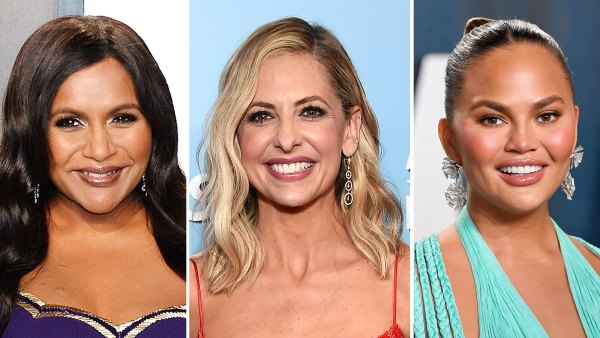 Mindy Kaling Sarah Michelle Gellar and Chrissy Teigen Stars Say Goodbye to 2020