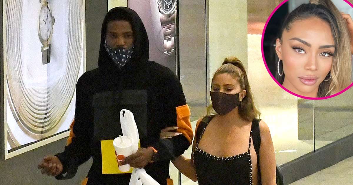 Larsa Pippen steps out with married NBA player Malik Beasley - cover