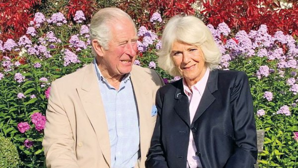 Prince Charles and Duchess Camilla Christmas Card 2020
