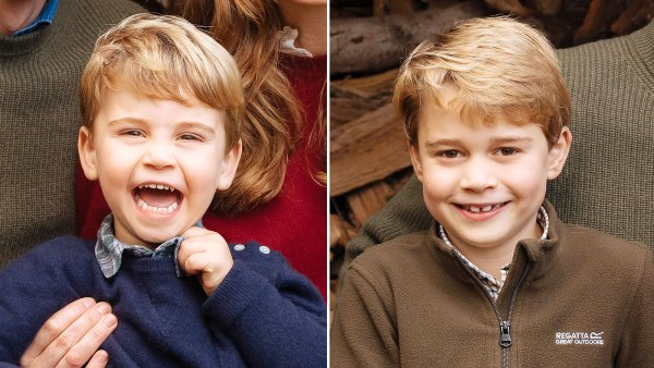 Prince Louis Looks Just Like Prince George in Royal Family Holiday Card 2020