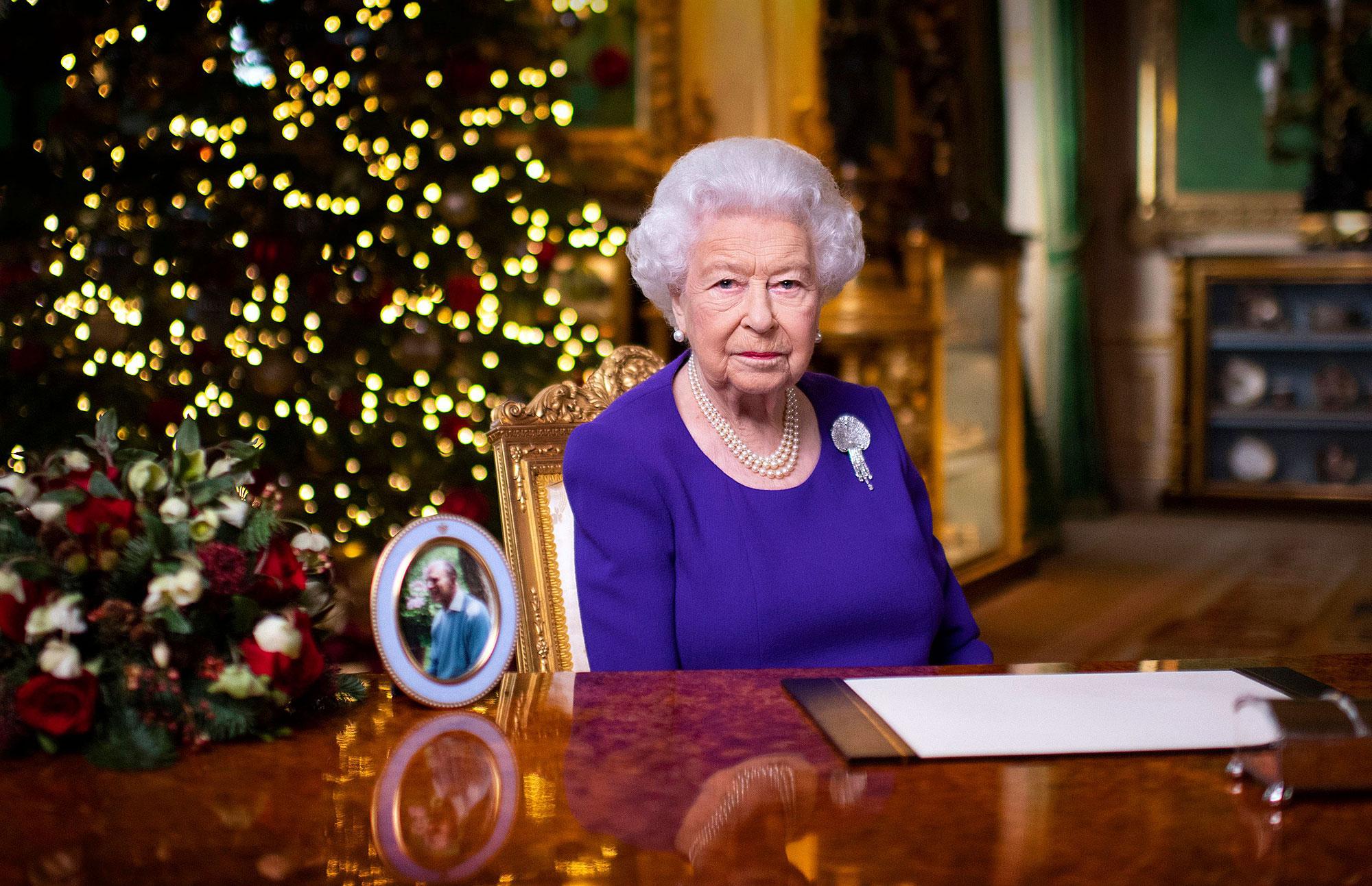 Queen Elizabeth Delivers Hopeful Christmas Speech in Purple Gown