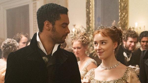 REGÉ-JEAN PAGE as SIMON BASSET and PHOEBE DYNEVOR as DAPHNE BRIDGERTON Bridgerton Cast Dating Histories