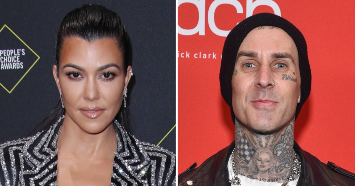 Kourtney Kardashian, Travis Barker Hang Out Together in ...