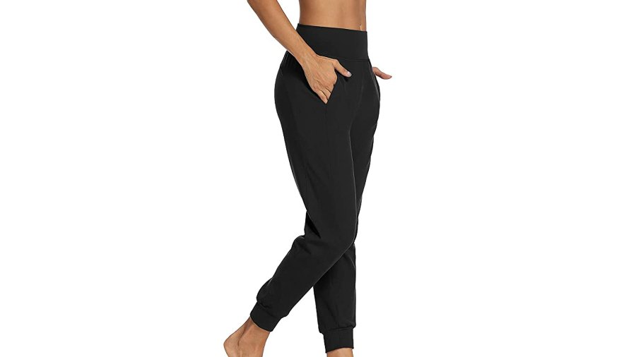 LEXISLOVE Women's Athletic Joggers Comfy Lounge Pants for Women with Pocket