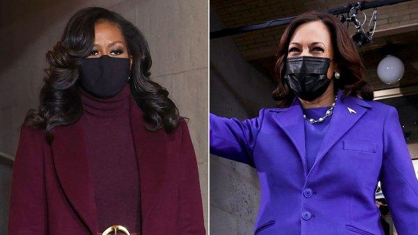 Michelle Obama Wears the Same Designer as Kamala Harris to the Inauguration