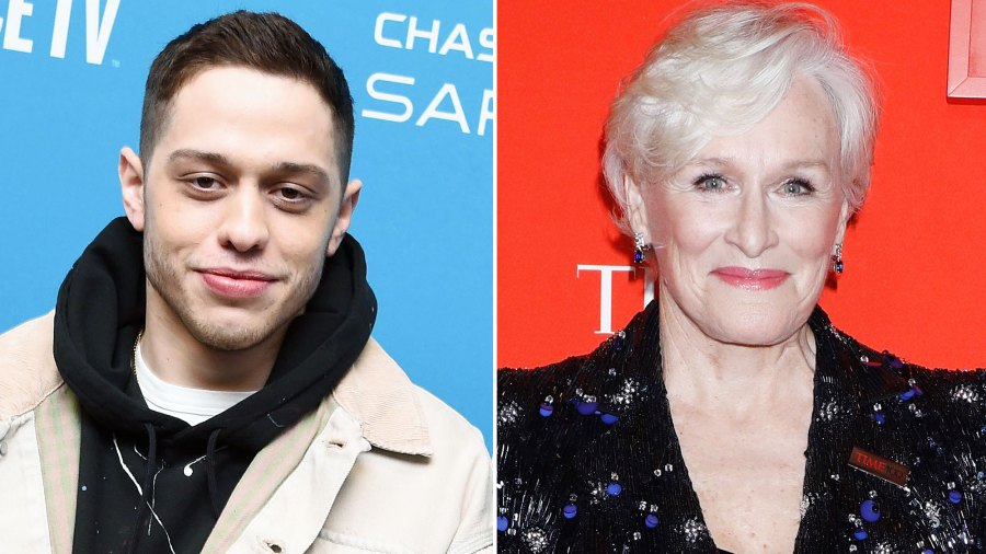 Pete Davidson Tells Glenn Close He Thought She Was British and More Hilarious Moments From New Interview
