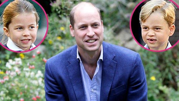 Prince William Reveals If Princess Charlotte Prince George Is Cheekier