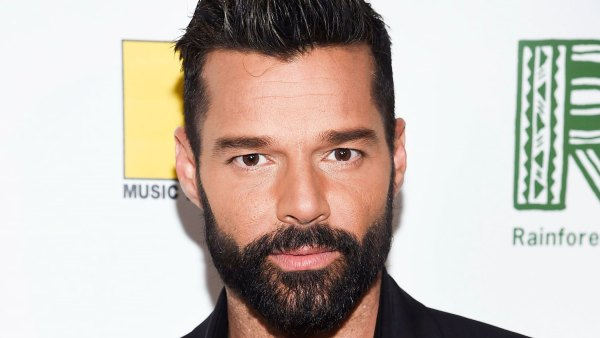 Ricky Martin Bleaches His Beard Out of Boredom, Because Why Not?