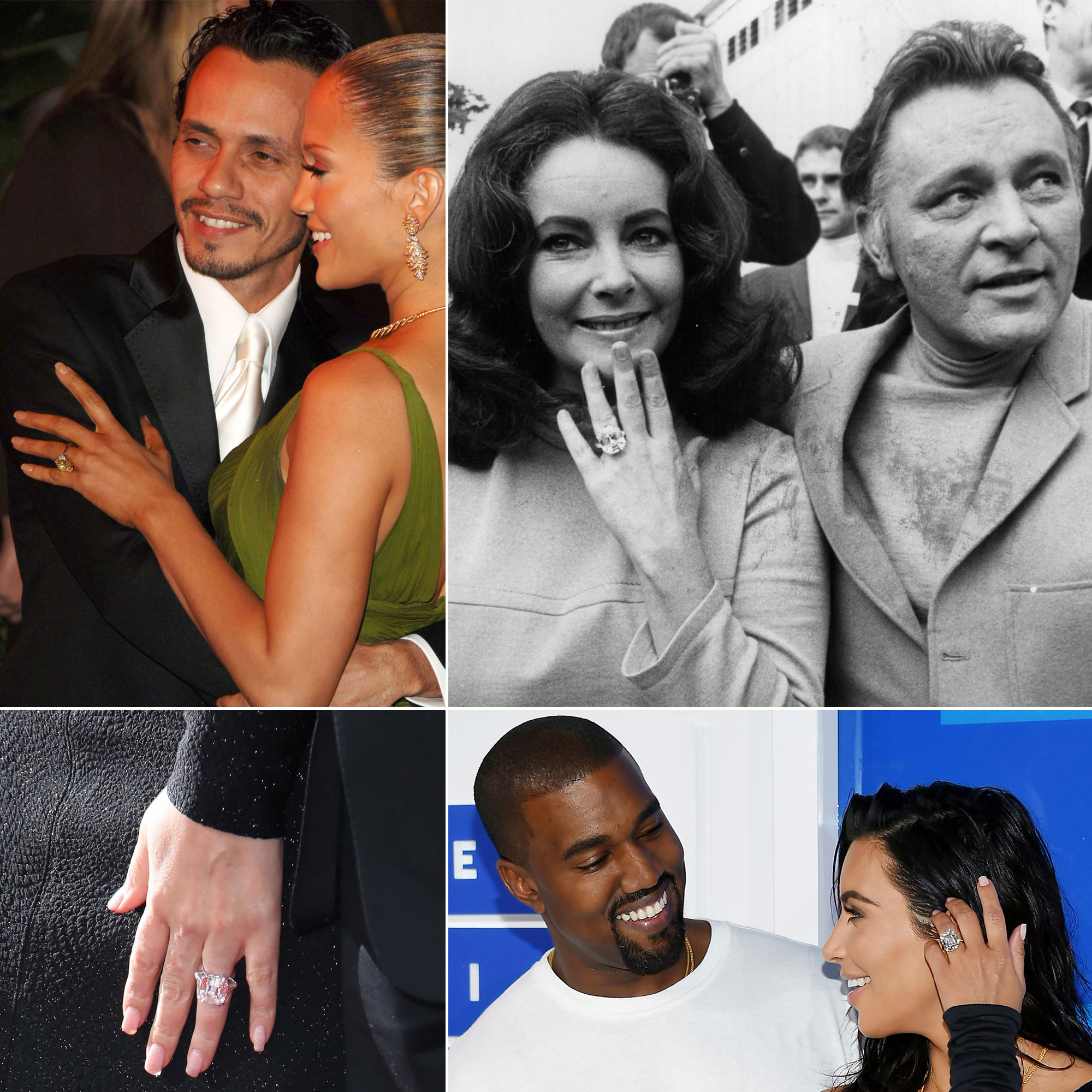 The 10 Most Expensive Celebrity Engagement Rings of All Time