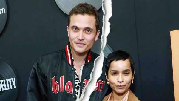 Celebrity Splits of 2021 Karl Glusman and Zoe Kravitz