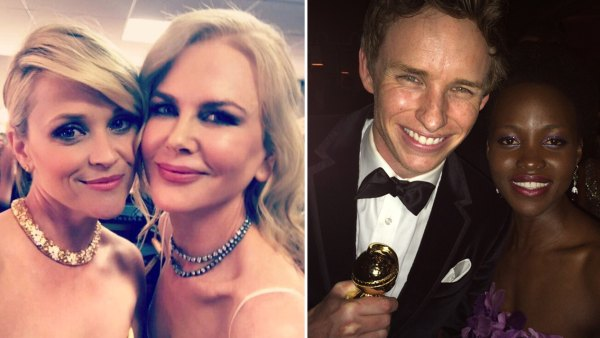 Best Golden Globes selfies