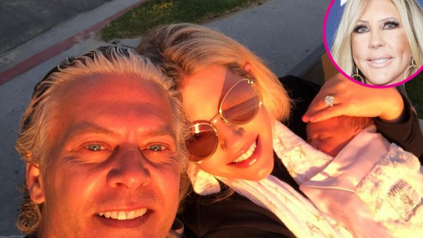 David Beador's Wife Reacts to Vicki Gunvalson's Support After Baby's Birth p