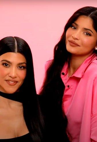 Kylie Jenner Talks Beauty Throwbacks With Kourtney: Watch