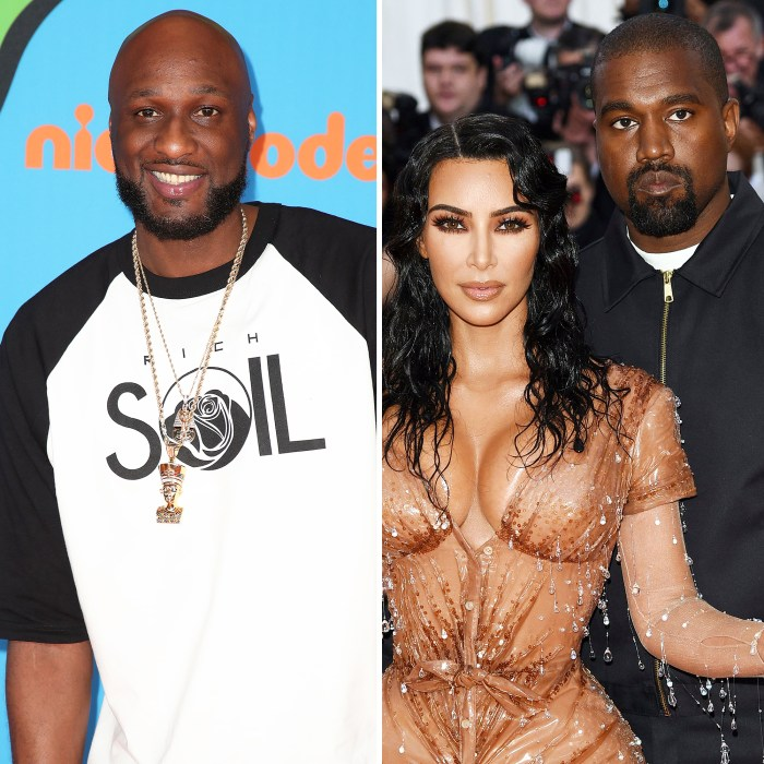 Lamar Odom Weighs in on Kim Kardashian Kanye West Split Rumors