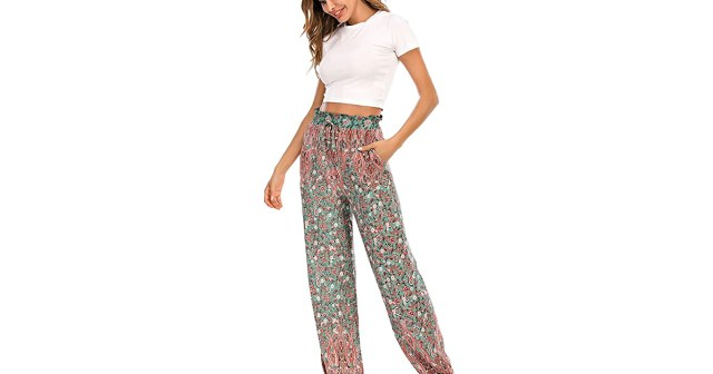 Give Your Sweats a Rest With These Flowy Boho-Chic Pants.jpg
