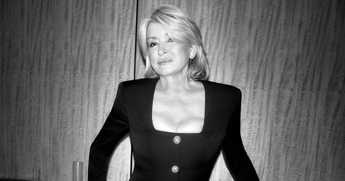 Martha Stewart, 79, Stuns in Revealing LBD for 'Harper's Bazaar'