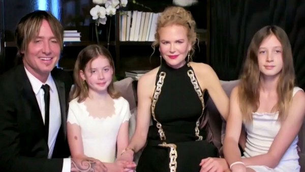 Nicole Kidman Keith Urban Give Rare Look Daughters
