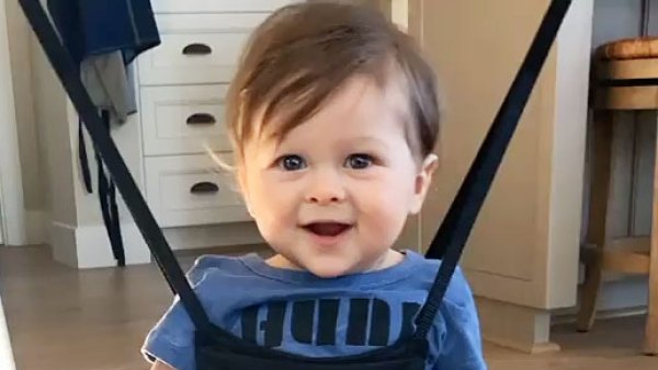 Nikki Bella and Artem Chigvintsev Son Matteo Tap Dancing