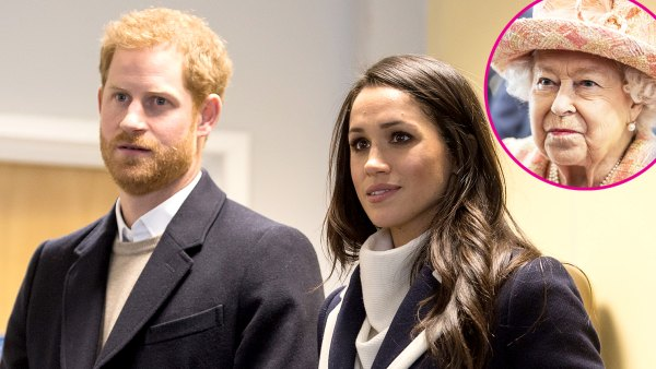 Prince Harry and Meghan Markle's Distance Has Been Challenging for Queen Elizabeth II p
