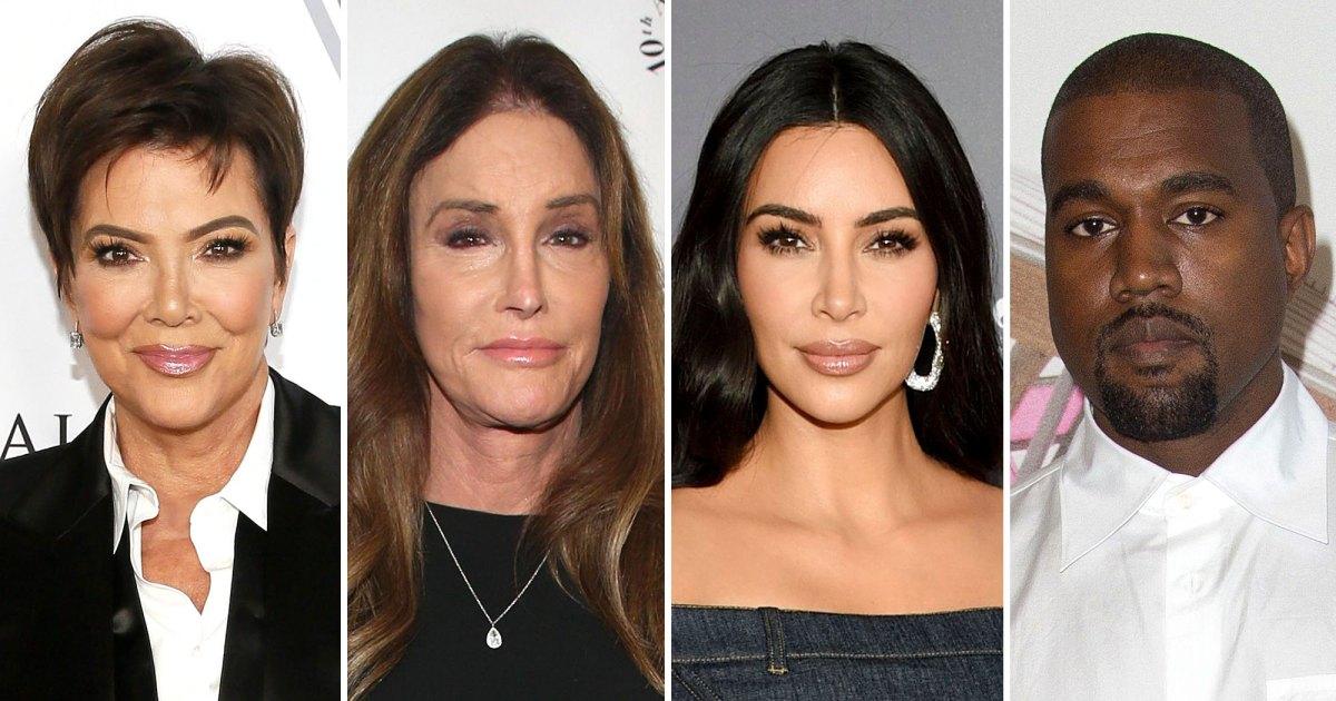 Kris, Caitlyn Jenner Break Silence on Kim Kardashian, Kanye West Split