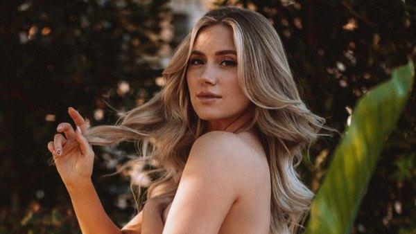 Lauren Burnham maternity shoot nude