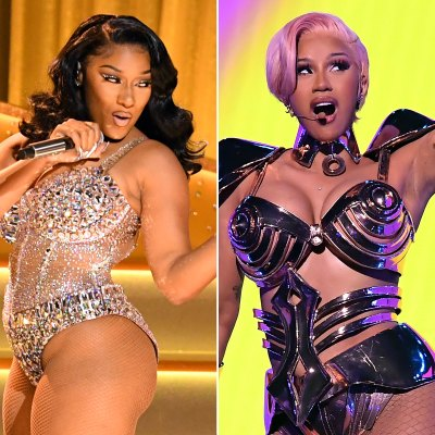 Grammys 2021: Fans React to Megan Thee Stallion, Cardi B's 'WAP' Set
