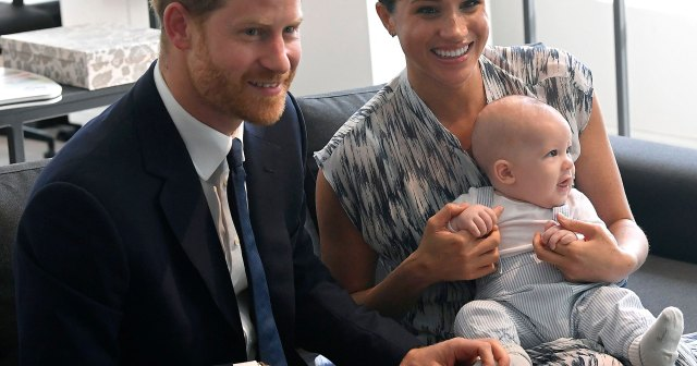 Meghan Markle and Prince Harry's Son Archie Makes Adorable Cameo in Tell-All Interview: Video.jpg