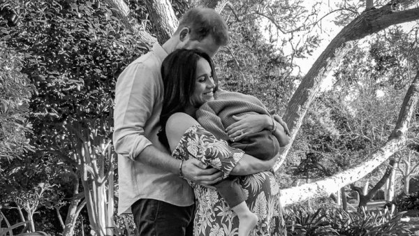 Pregnant Meghan Markle Holds Son Archie in New Baby Bump Pic