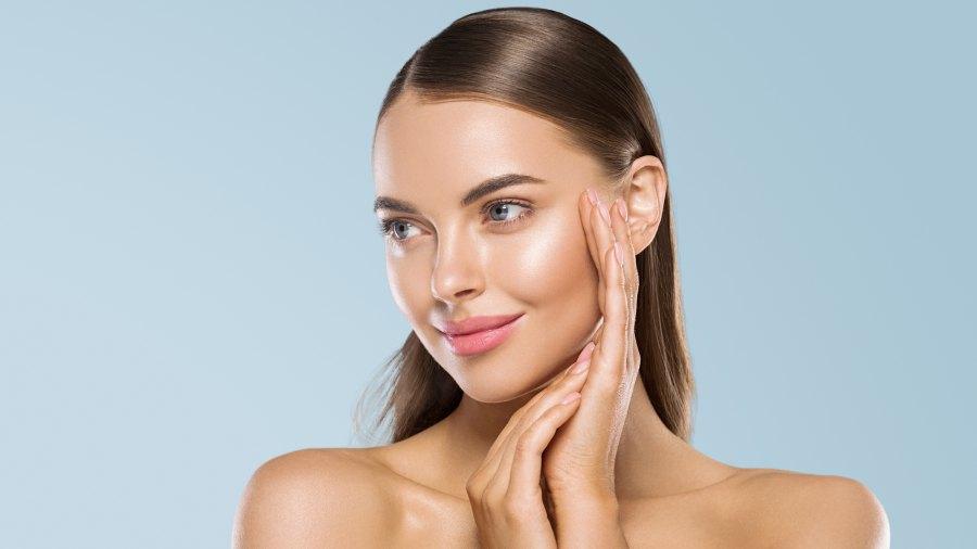 Woman-Fresh-Skin-Stock-Photo