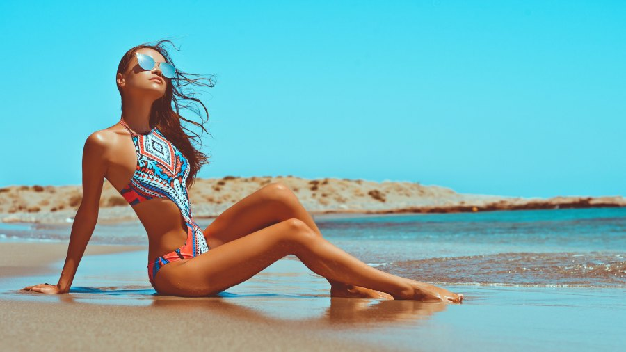 Cutout-Swimsuit-Stock-Photo
