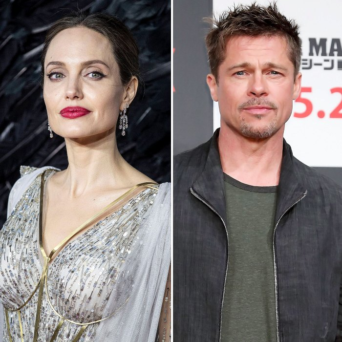 Le podcast hollywoodien chaud Angelina Jolie nuance Brad Pitt