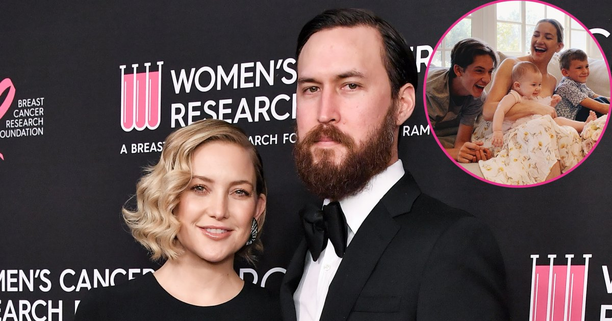 Kate Hudson Has a 'Great Dynamic' With Boyfriend Danny Fujikawa and Her Exes When Raising Kids