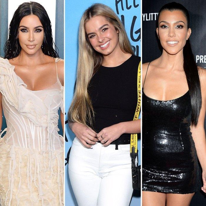 Kim Kardashian demande à Addison Rae si elle se connecte avec Kourtney Kardashian