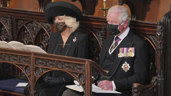 Prince Charles and Camilla attend Prince Philip Laid to Rest in Emotional Funeral at St George's Chapel