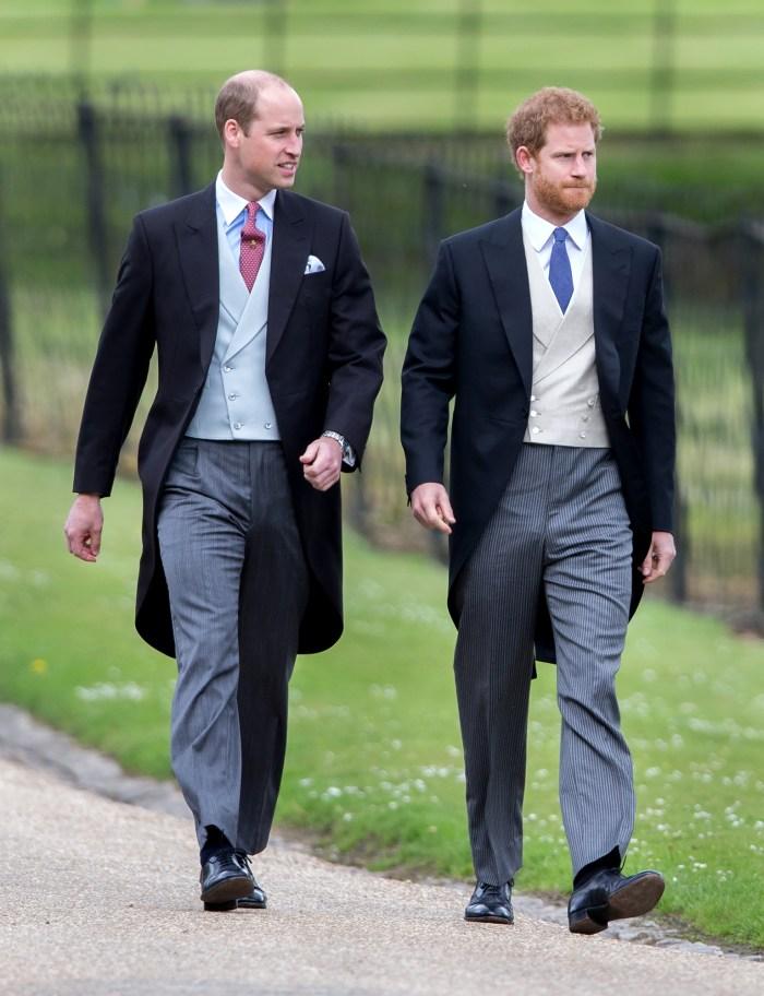 Le prince William et le prince Harry ont `` seulement '' parlé d'une chose lors d'une conversation post-entretien