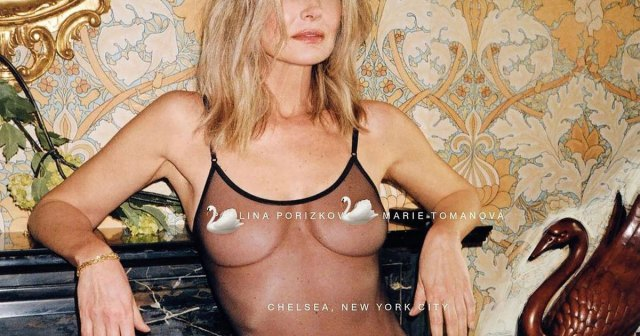 Paulina Porizkova, 56, Goes 'Full Frontal Nude' for 'Vogue' Czechoslovakia 40 Years After First Cover.jpg