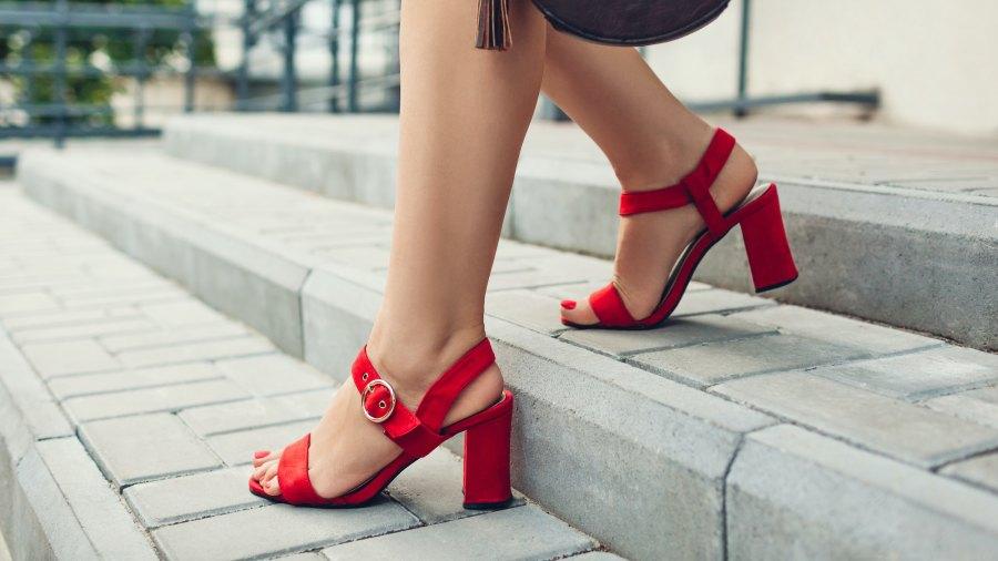 Comfortable-Block-Heels-Stock-Photo