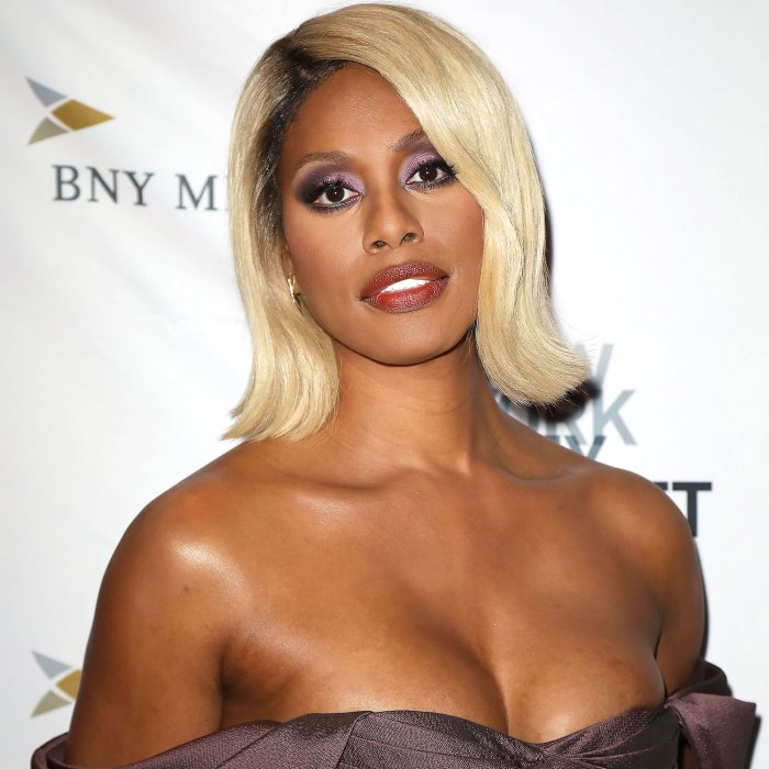 Fabulous Laverne Cox Is The New E Live From Red Carpet Host