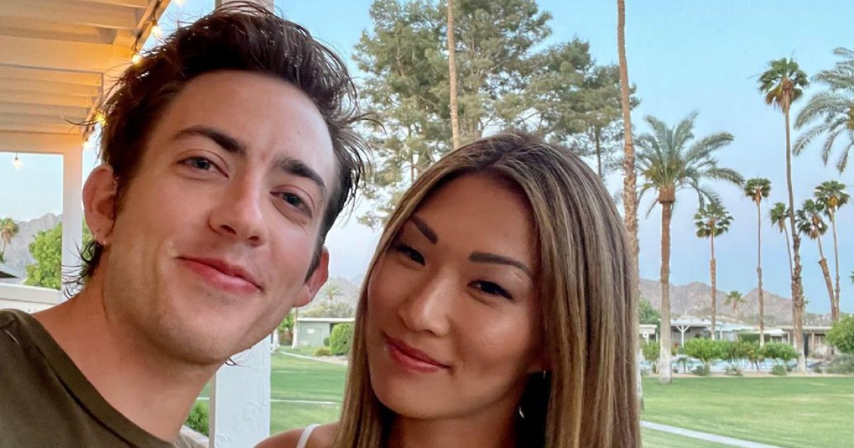 Gleek Out! Jenna Ushkowitz and Kevin McHale Reunite for Bachelorette Bash