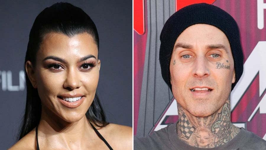 OMG Kourtney Kardashian Tattoos Travis Barker I Love You