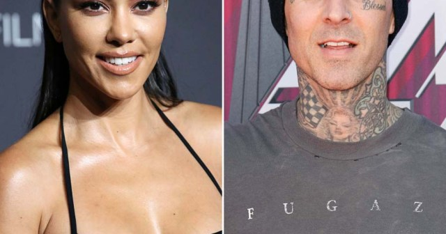 Kourtney Kardashian Tattoos 'I Love You' on Boyfriend Travis Barker's Arm — and Fans Are Freaking Out.jpg