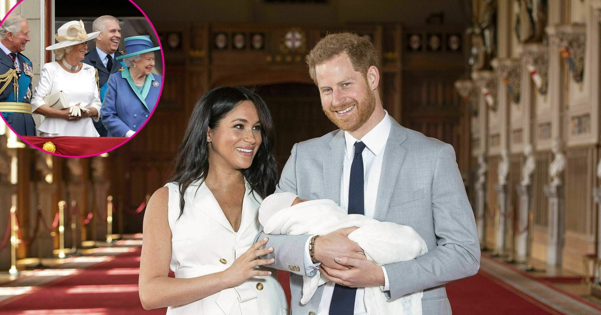 Royal Family Sends Prince Harry and Meghan Markle's Son Archie Love on His 2nd Birthday